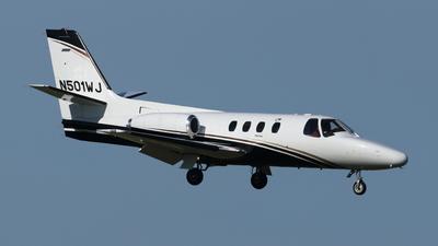 N501WJ - Cessna 501 Citation Stallion - Private