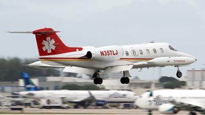N357LJ - Gates Learjet 35A - Jet Rescue