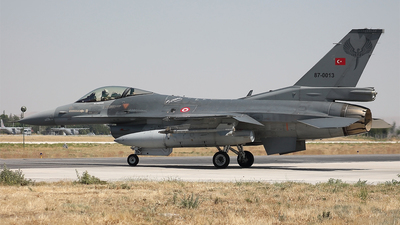 87-0013 - General Dynamics F-16C Fighting Falcon - Turkey - Air Force