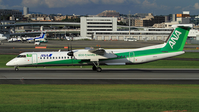 JA857A - Bombardier Dash 8-Q402 - All Nippon Airways (Air Japan)