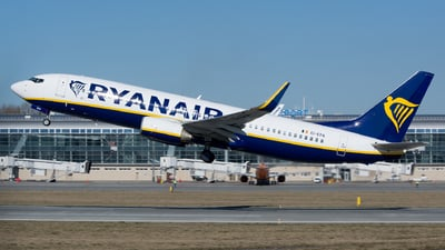 A picture of EIEPA - Boeing 7378AS - Ryanair - © Yura Tanchyn