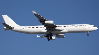 ZS-SXG - Airbus A340-313X - South African Airways
