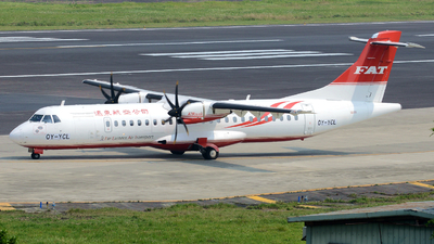 OY-YCL - ATR 72-212A(600) - Far Eastern Air Transport (FAT)