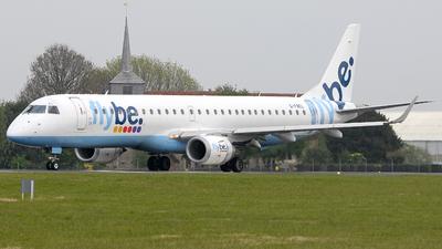 G-FBEL - Embraer 190-200LR - Flybe