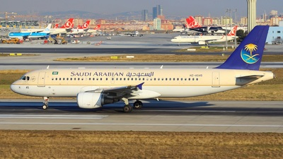 HZ-AS45 - Airbus A320-214 - Saudi Arabian Airlines