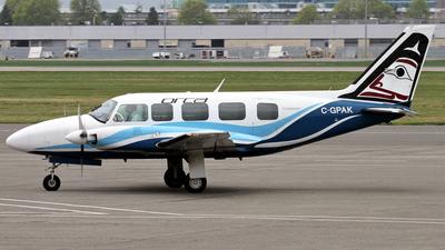 C-GPAK - Piper PA-31-350 Chieftain - Orca Airways