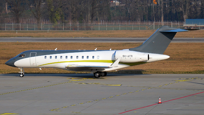 9H-AFR - Bombardier BD-700-1A11 Global 5000 - Comlux Aviation Malta
