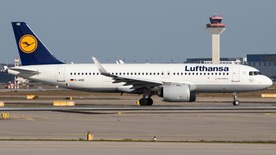 D-AIND - Airbus A320-271N - Lufthansa