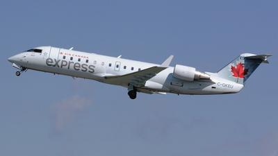C-GKEU - Bombardier CRJ-200LR - Air Canada Express (Jazz Aviation)
