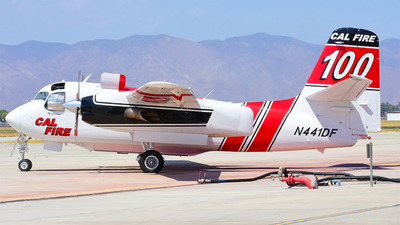 N441DF - Grumman S-2F3AT Turbo Tracker - United States - California Department of Forestry