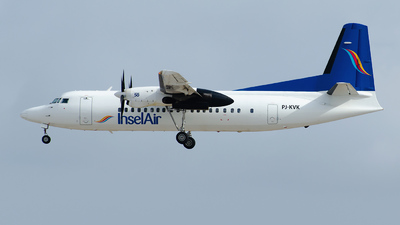 PJ-KVK - Fokker 50 - Insel Air