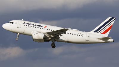 F-GRHK - Airbus A319-111 - Air France