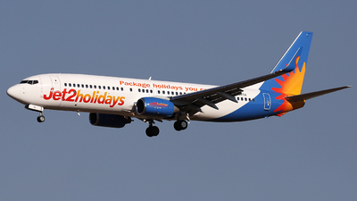 A picture of GDRTH - Boeing 7378BK - Jet2 - © Firat Cimenli