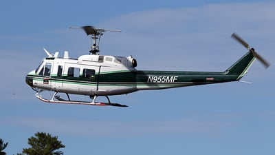 N955MF - Bell UH-1H Iroquois - United States - Maine Forest Service