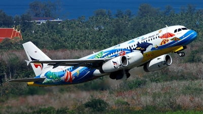 HS-PGW - Airbus A320-232 - Bangkok Airways