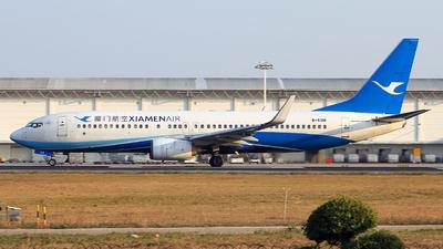 A picture of B5318 - Boeing 73785C - Xiamen Air - © Egg_Shadowsine Aviation