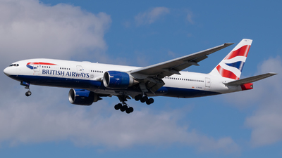 A picture of GRAES - Boeing 777236(ER) - British Airways - © Frankie A Said