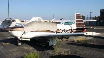 N201HJ - Mooney M20J - Private