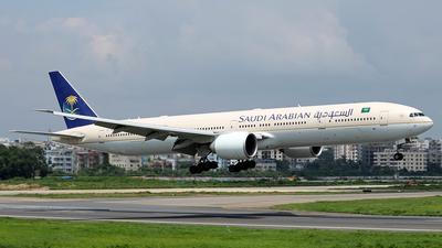 HZ-AK17 - Boeing 777-368ER - Saudi Arabian Airlines