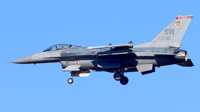 93-0536 - Lockheed Martin F-16C Fighting Falcon - United States - US Air Force (USAF)