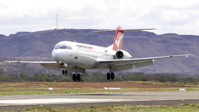 VH-NHM - Fokker 100 - QantasLink (Network Aviation)