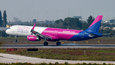 HA-LXC - Airbus A321-231 - Wizz Air