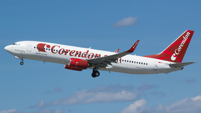 TC-TJG - Boeing 737-86J - Corendon Airlines