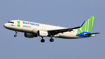 TC-FHN - Airbus A320-214 - Bamboo Airways (Freebird Airlines)