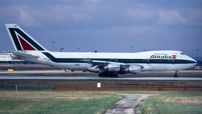 I-DEMV - Boeing 747-243B - Alitalia