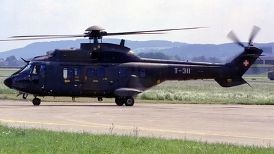 T-311 - Aérospatiale AS 332M1 Super Puma - Switzerland - Air Force