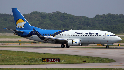C-GCNZ - Boeing 737-36Q - Canadian North