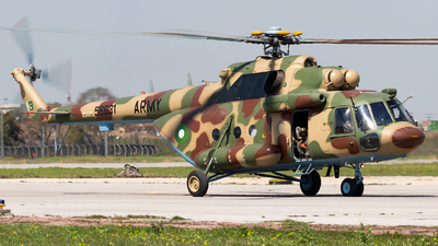 58631 - Mil Mi-17 Hip - Pakistan - Army Aviation