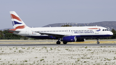 A picture of GEUUJ - Airbus A320232 - British Airways - © Marco Silvestre