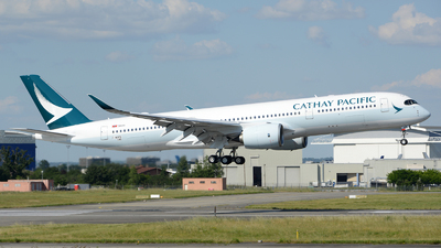 F-WZFD - Airbus A350-941 - Cathay Pacific Airways