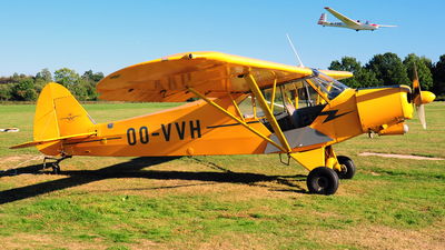 OO-VVH - Piper PA-18-180M Super Cub - Private