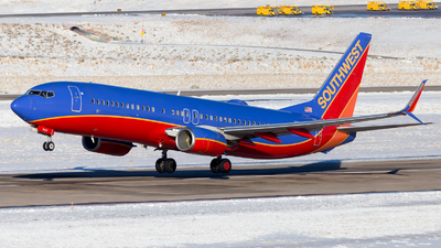A picture of N8625A - Boeing 7378H4 - Southwest Airlines - © HA-KLS