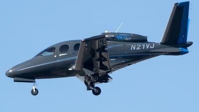 N21VJ - Cirrus Vision SF50 G2 - VeriJet