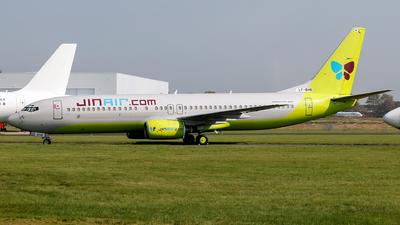 LY-BHB - Boeing 737-86N - Jin Air
