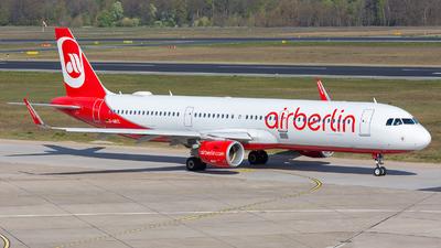 D-ABCL - Airbus A321-211 - Air Berlin