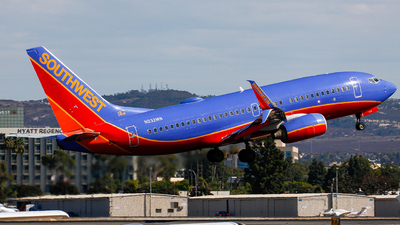 A picture of N232WN - Boeing 7377H4 - Southwest Airlines - © KenKen Huang