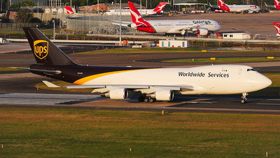 N575UP - Boeing 747-44AF(SCD) - United Parcel Service (UPS)