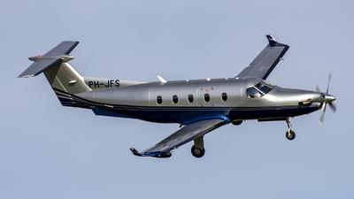 A picture of PHJFS - Pilatus PC12/45 - [477] - © Bjorn van der Velpen