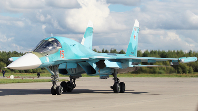 RF-95848 - Sukhoi Su-34 Fullback - Russia - Air Force