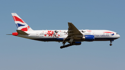 G-YMML - Boeing 777-236(ER) - British Airways