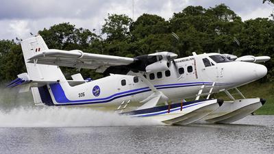 FAP305 - Viking DHC-6-400 Twin Otter - Perú - Air Force