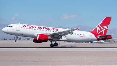 N851VA - Airbus A320-214 - Virgin America