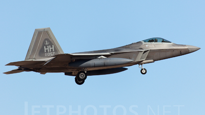 03-4057 - Lockheed Martin F-22A Raptor - United States - US Air Force (USAF)