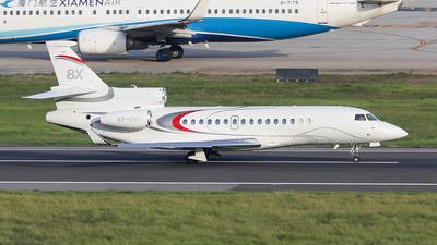VP-CHX - Dassault Falcon 8X - Private