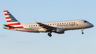 A picture of N408YX - Embraer E175LR - American Airlines - © Felipe Garcia