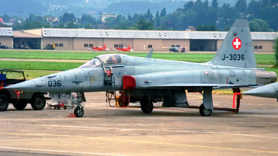 J-3036 - Northrop F-5E Tiger II - Switzerland - Air Force